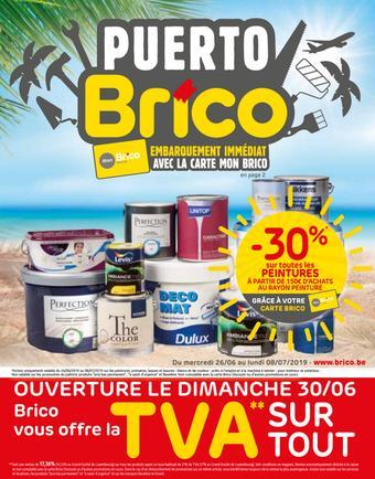 Brico catalogue publicitaire (valable jusqu'au 08-07)