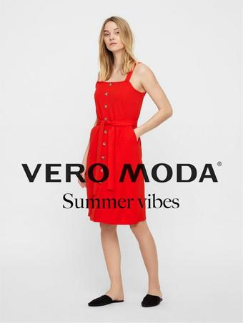 Vero Moda reclame folder (geldig t/m 08-07)