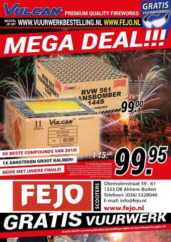 Fejo reclame folder (geldig t/m 31-12)