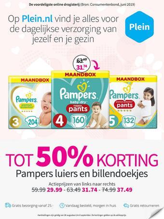 Plein.nl reclame folder (geldig t/m 31-10)