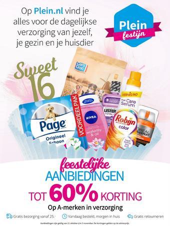 Plein.nl reclame folder (geldig t/m 03-11)