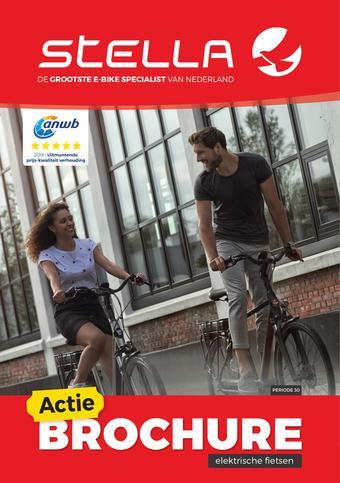 Stella fietsen reclame folder (geldig t/m 30-06)