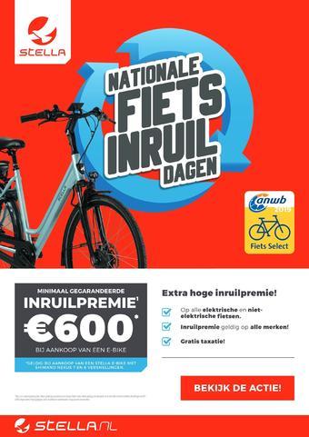 Stella fietsen reclame folder (geldig t/m 26-05)
