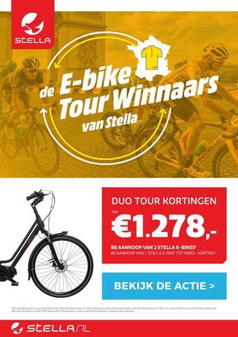 Stella fietsen reclame folder (geldig t/m 27-07)