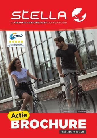 Stella fietsen reclame folder (geldig t/m 31-10)