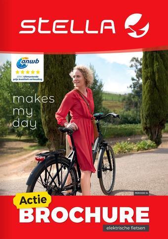 Stella fietsen reclame folder (geldig t/m 31-01)