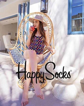 Happy Socks reclame folder (geldig t/m 29-07)