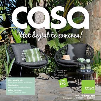 Casa reclame folder (geldig t/m 26-05)