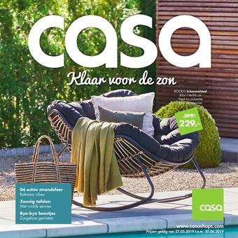 Casa reclame folder (geldig t/m 30-06)