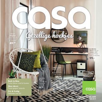 Casa reclame folder (geldig t/m 25-08)