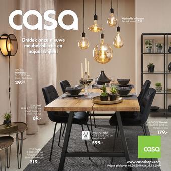 Casa reclame folder (geldig t/m 31-12)