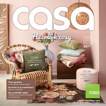 Casa reclame folder (geldig t/m 27-10)