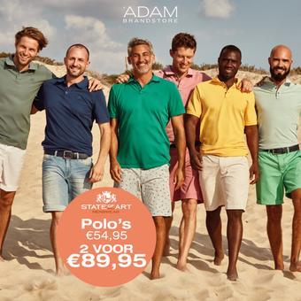 Adam Brandstore reclame folder (geldig t/m 31-08)