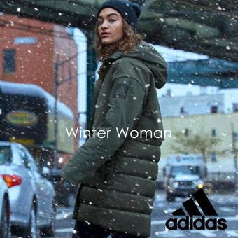 Adidas reclame folder (geldig t/m 16-12)