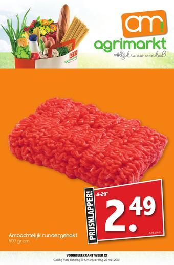 Agrimarkt reclame folder (geldig t/m 25-05)