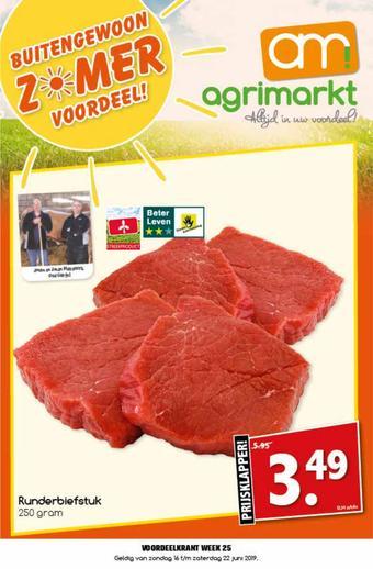 Agrimarkt reclame folder (geldig t/m 22-06)