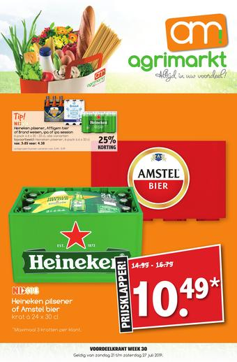 Agrimarkt reclame folder (geldig t/m 27-07)