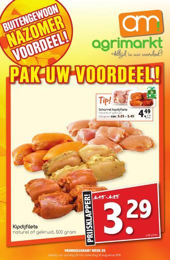 Agrimarkt reclame folder (geldig t/m 31-08)