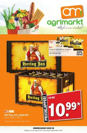Agrimarkt reclame folder (geldig t/m 21-09)