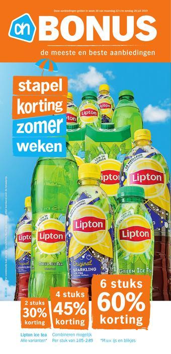 Albert Heijn reclame folder (geldig t/m 28-07)