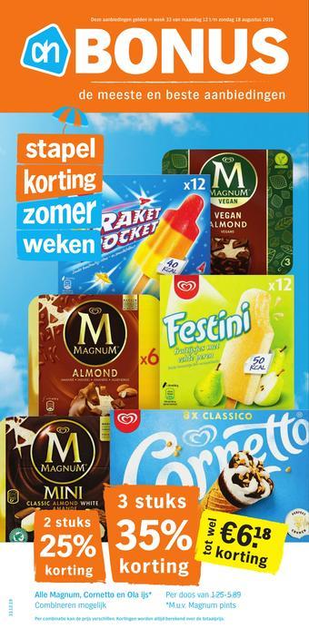 Albert Heijn reclame folder (geldig t/m 18-08)