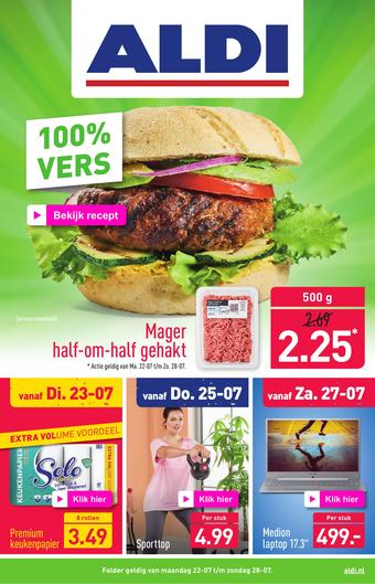 ALDI reclame folder (geldig t/m 28-07)