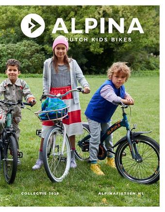 Alpina Fietsen reclame folder (geldig t/m 31-12)