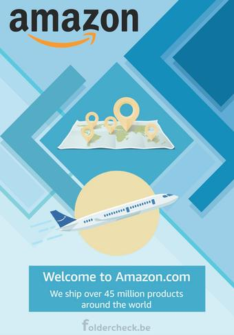 Amazon reclame folder (geldig t/m 31-10)