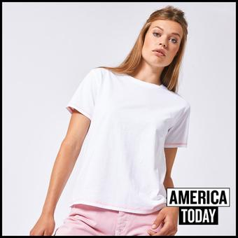 America Today reclame folder (geldig t/m 02-09)
