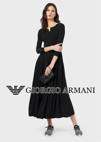 Armani reclame folder (geldig t/m 31-10)