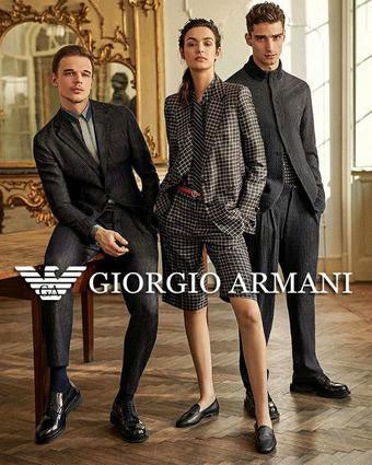 Armani reclame folder (geldig t/m 16-10)