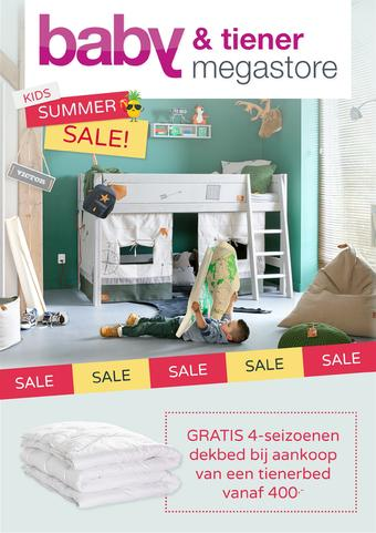 Baby & Tiener reclame folder (geldig t/m 28-07)