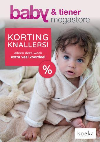 Baby & Tiener reclame folder (geldig t/m 21-09)