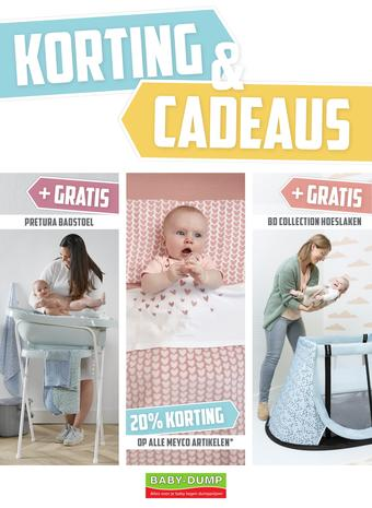 Baby-Dump reclame folder (geldig t/m 02-06)