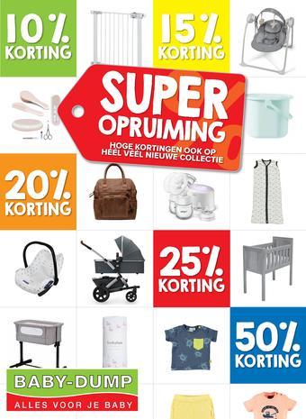 Baby-Dump reclame folder (geldig t/m 04-08)