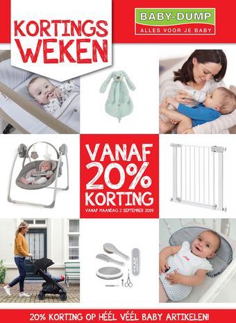 Baby-Dump reclame folder (geldig t/m 28-09)