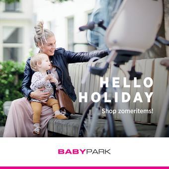 Babypark reclame folder (geldig t/m 22-07)