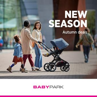 Babypark reclame folder (geldig t/m 21-10)