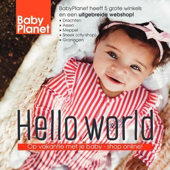 Babyplanet reclame folder (geldig t/m 30-06)
