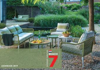 Beach7 tuinmeubelen reclame folder (geldig t/m 30-09)