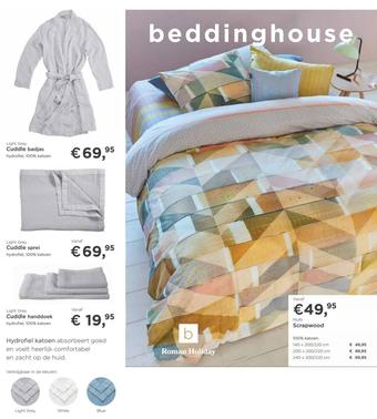 Bedding House reclame folder (geldig t/m 31-10)