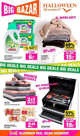 Big Bazar reclame folder (geldig t/m 03-11)