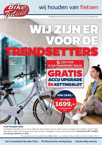 Bike Totaal reclame folder (geldig t/m 15-09)