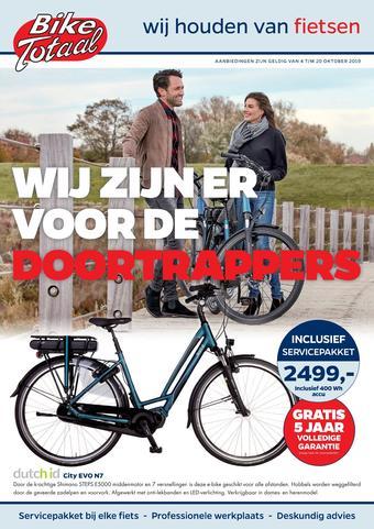 Bike Totaal reclame folder (geldig t/m 20-10)