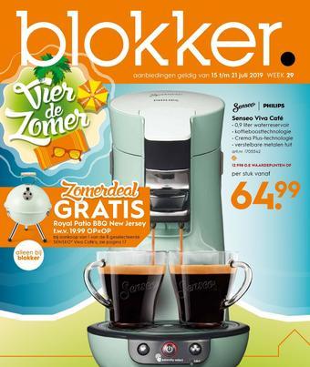 Blokker reclame folder (geldig t/m 21-07)
