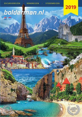 Bolderman Excursiereizen reclame folder (geldig t/m 31-12)
