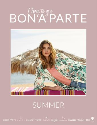 Bon'A Parte reclame folder (geldig t/m 25-08)