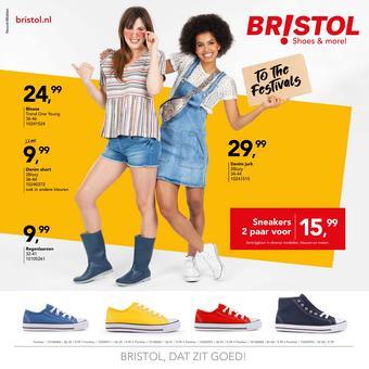 Bristol reclame folder (geldig t/m 19-05)