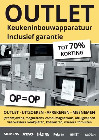 Bruynzeel Keukens reclame folder (geldig t/m 31-03)