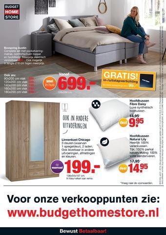 Budget Home Store reclame folder (geldig t/m 30-06)